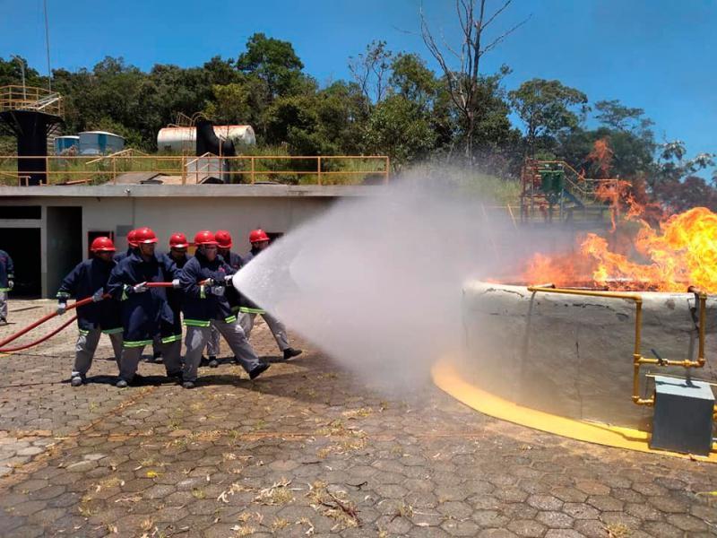 Curso básico de combate a incêndio