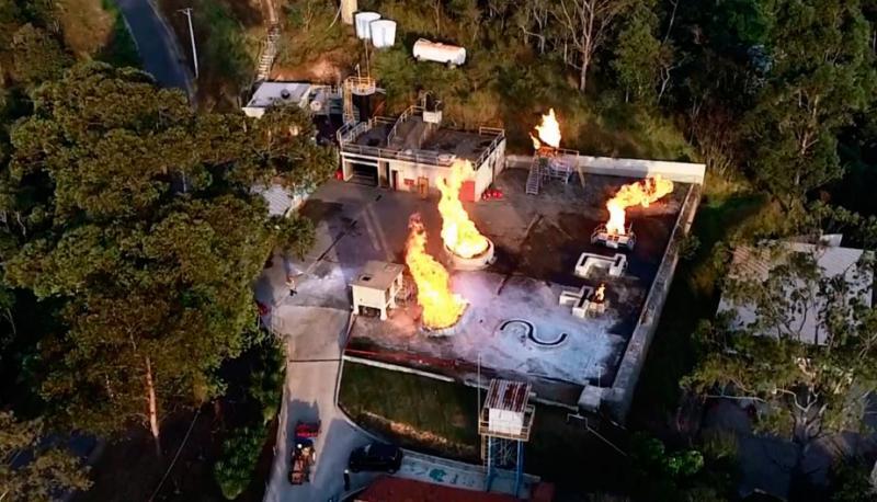 Empresa de treinamento de combate a incêndio