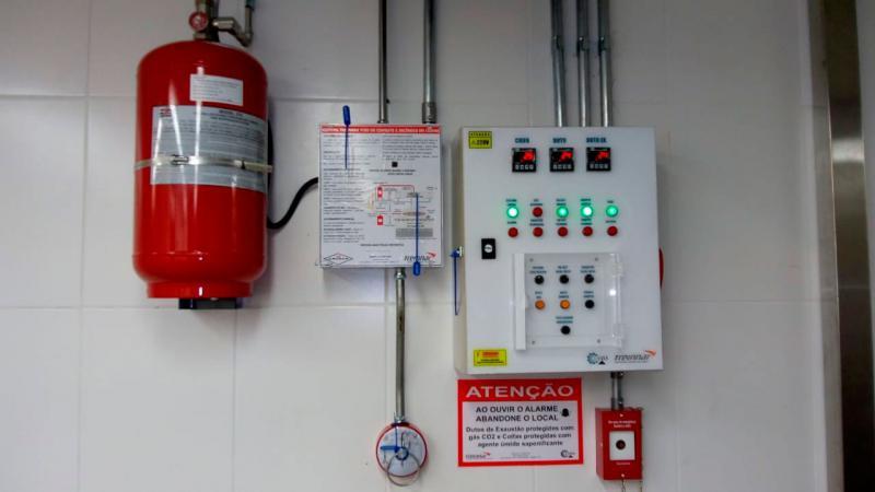 Equipamentos de proteção cozinha industrial