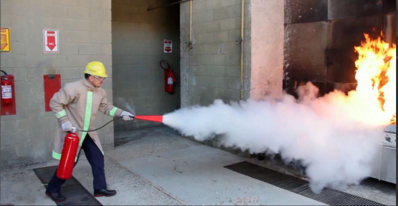 Formação brigada de incêndio