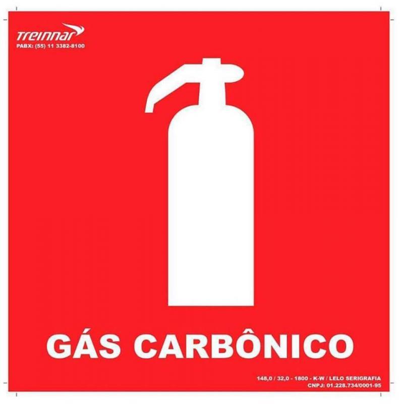 Placas de sinalização de hidrantes