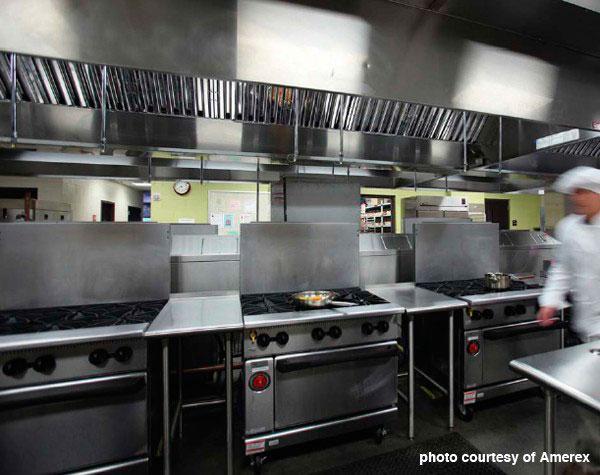 Prevenção de incêndio em cozinhas industriais