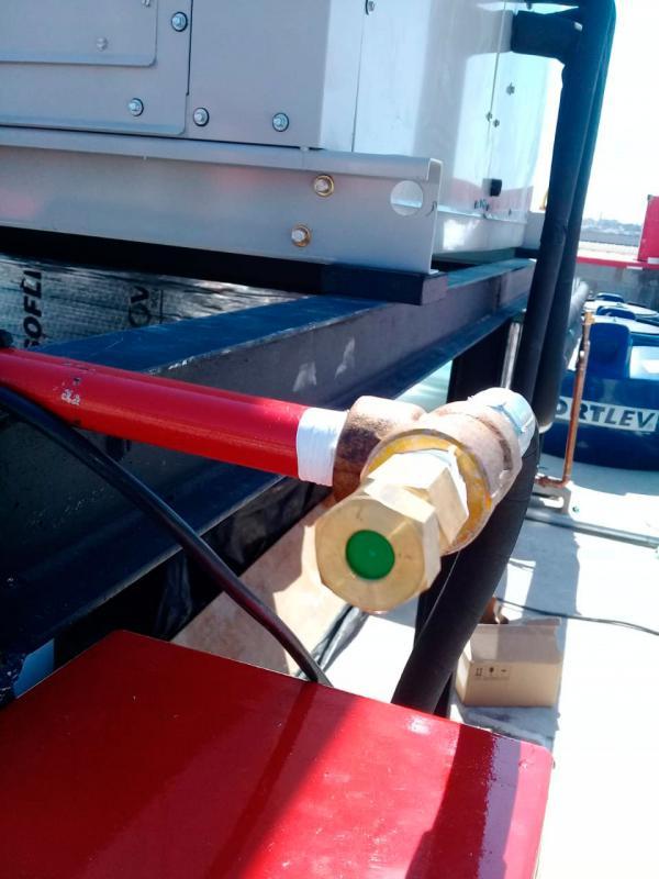 Sistema CO₂ combate incêndio