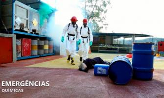 Curso emergências químicas