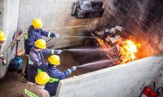 Curso de primeiros socorros e combate a incêndio