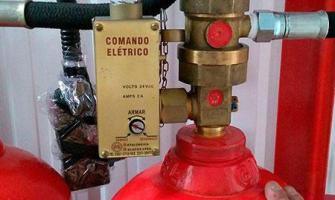 Teste hidrostatico cilindro co2